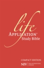 NIV Compact Life Application Study Bible (Anglicised) : Pink Soft-tone - Book