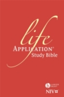 NIV Larger Print Life Application Study Bible (Anglicised) : Hardback - Book