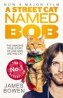 A Street Cat Named Bob : How one man and his cat found hope on the streets - Book