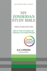 NIV Zondervan Study Bible (Anglicised) : Leather - Book