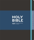NIV Black Journalling Bible with Unlined Margins - Book