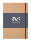 NIV Tan Single-Column Journalling Bible : Customizable cover - Book