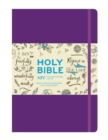 NIV Purple Single-Column Journalling Bible - Book