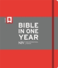 NIV Journalling Bible in One Year : Red - Book