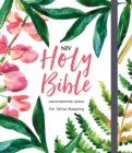 NIV Bible for Journalling and Verse-Mapping : Floral - Book