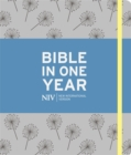 NIV Journalling Bible in One Year : Grey - Book