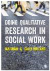 Doing Qualitative Research in Social Work - eBook