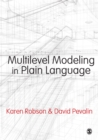 Multilevel Modeling in Plain Language - eBook