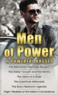 Men of Power: The Billionaire's Marriage Bargain / The Italian Tycoon and the Nanny / The Heart of a Ruler / The Substitute Millionaire / The Boss's Bedroom Agenda / Virgin: Wedded at the Italian's Co - eBook
