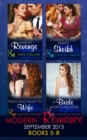 Modern Romance September 2015 Books 5-8 - eBook