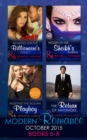 Modern Romance October 2015 Books 5-8: Reunited for the Billionaire's Legacy / Hidden in the Sheikh's Harem / Resisting the Sicilian Playboy / The Return of Antonides - eBook
