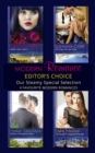 Modern Romance February 2016 Editor's Choice: Leonetti's Housekeeper Bride / The Sheikh's Pregnant Prisoner / Castelli's Virgin Widow / Illicit Night with the Greek - eBook