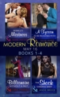 Modern Romance May 2016 Books 1-4: Morelli's Mistress / A Tycoon to Be Reckoned With / Billionaire Without a Past / The Shock Cassano Baby (Mills & Boon e-Book Collections) - eBook