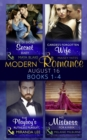 Modern Romance August 2016 Books 1-4 - eBook