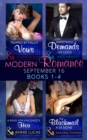 Modern Romance September 2016 Books 1-4 - eBook
