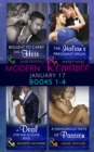 Modern Romance January 2017 Books 1 - 4 - eBook