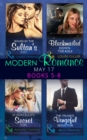 Modern Romance May 2017 Books 5 - 8: Bound by the Sultan's Baby / Blackmailed Down the Aisle / Di Marcello's Secret Son / The Italian's Vengeful Seduction (Mills & Boon e-Book Collections) - eBook