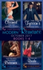 Modern Romance Collection: October 2017 Books 1 - 4 - eBook