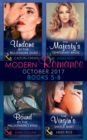 Modern Romance Collection: October 2017 5 - 8 (Mills & Boon e-Book Collections) - eBook