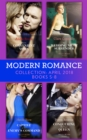 Modern Romance Collection: April 2018 Books 5 - 8: Vieri's Convenient Vows / Her Wedding Night Surrender / Captive at Her Enemy's Command / Conquering His Virgin Queen - eBook