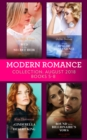 Modern Romance August 2018 Books 5-8 Collection: Wed for His Secret Heir / Tycoon's Ring of Convenience / A Cinderella for the Desert King / Bound by the Billionaire's Vows - eBook