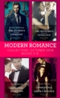 Modern Romance October 2018 Books 5-8: The Tycoon's Ultimate Conquest / The Spaniard's Pleasurable Vengeance / Kidnapped for Her Secret Son / Consequence of the Greek's Revenge - eBook