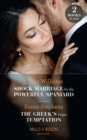 Shock Marriage For The Powerful Spaniard / The Greek's Virgin Temptation: Shock Marriage for the Powerful Spaniard / The Greek's Virgin Temptation (Mills & Boon Modern) - eBook