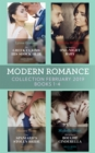 Modern Romance February Books 1-4: The Greek Claims His Shock Heir / The Venetian One-Night Baby / The Spaniard's Stolen Bride / The Sicilian's Bought Cinderella - eBook