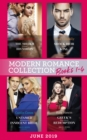 Modern Romance June 2019 Books 1-4: The Sheikh Crowns His Virgin (Billionaires at the Altar) / Greek's Baby of Redemption / Shock Heir for the King / Untamed Billionaire's Innocent Bride - eBook