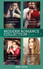 Modern Romance June 2019 Books 5-8: Untouched Until Her Ultra-Rich Husband / A Scandalous Midnight in Madrid / Reunited by the Greek's Vows / Claiming His Replacement Queen - eBook