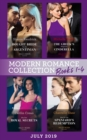 Modern Romance July 2019 Books 1-4: Bought Bride for the Argentinian (Conveniently Wed!) / The Greek's Pregnant Cinderella / His Two Royal Secrets / Wed for the Spaniard's Redemption - eBook