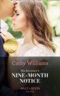 His Secretary's Nine-Month Notice (Mills & Boon Modern) - eBook