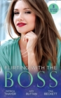 Flirting With The Boss: Single Dad's Holiday Wedding (Rocky Mountain Brides) / Melting the Ice Queen's Heart / Her Playboy's Secret (Mills & Boon M&B) - eBook