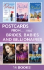 Postcards From...Verses Brides Babies And Billionaires (Mills & Boon e-Book Collections) - eBook