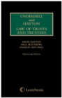 Underhill and Hayton Law of Trusts and Trustees 1st Supplement to 19th Edition - Book
