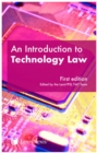 An Introduction to Technology Law - Book