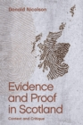 Evidence and Proof in Scotland : Context and Critique - Book