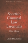 Scottish Criminal Law Essentials - Book