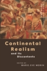 Continental Realism and its Discontents - Book