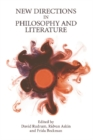 New Directions in Philosophy and Literature - Book