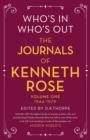 Who's In, Who's Out: The Journals of Kenneth Rose : Volume One 1944-1979 - eBook