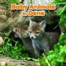 Baby Animals in Dens - Book