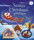 Santa's Christmas Journey with Wind-Up Sleigh - Book