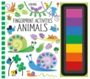Fingerprint Activities : Animals - Book