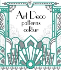 Art Deco Patterns to Colour - Book