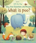 Lift-The-Flap Very First Questions & Answers : What is Poo? - Book