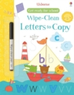 Get Ready for School Wipe-Clean Letters to Copy - Book