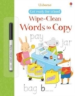 Get Ready for School Wipe-Clean Words to Copy - Book
