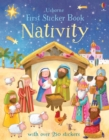 First Sticker Book Nativity - Book