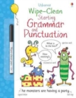 Wipe-Clean Starting Grammar and Punctuation - Book